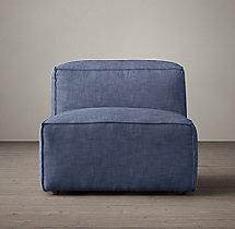 sofa moudlar azul indigo